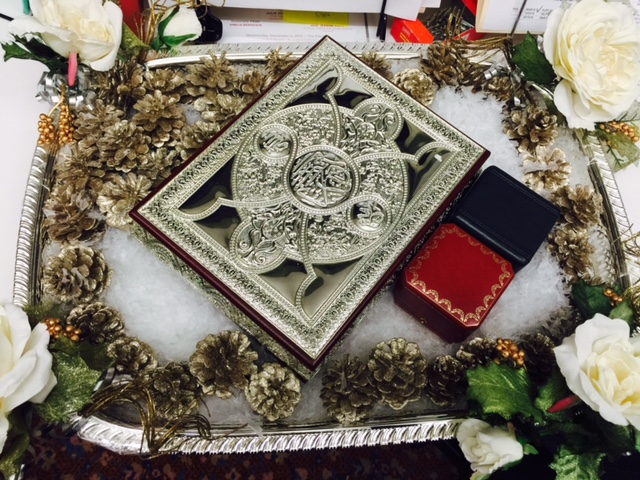 A Beautiful Quran From This Weekend S Wedding Alhamdulillah